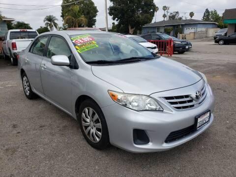 2013 Toyota Corolla for sale at LR AUTO INC in Santa Ana CA