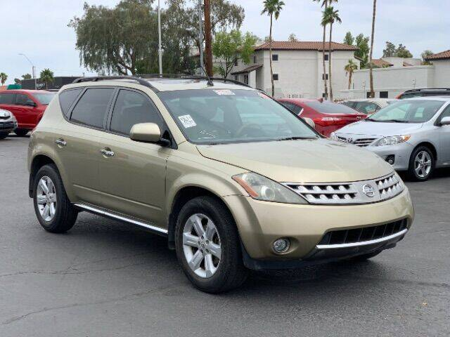 2007 Nissan Murano for sale at Brown & Brown Wholesale in Mesa AZ