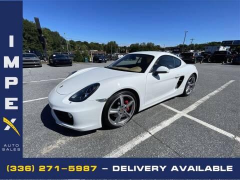 2014 Porsche Cayman for sale at Impex Auto Sales in Greensboro NC
