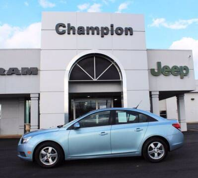 2012 Chevrolet Cruze for sale at Champion Chevrolet in Athens AL