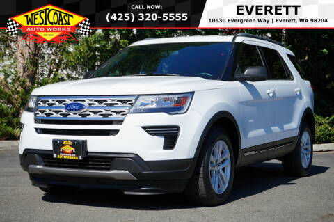 2019 Ford Explorer for sale at West Coast Auto Works in Edmonds WA