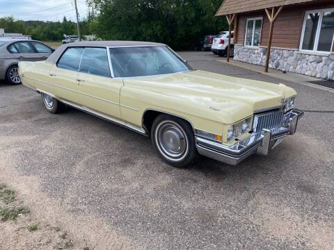 1973 CADDILLAC n/a for sale at MOTORS N MORE in Brainerd MN