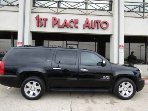 2011 GMC Yukon XL for sale at First Place Auto Ctr Inc in Watauga TX