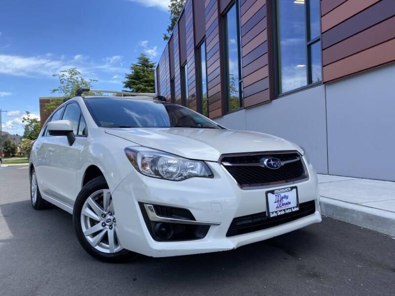 2016 Subaru Impreza for sale at DAILY DEALS AUTO SALES in Seattle WA