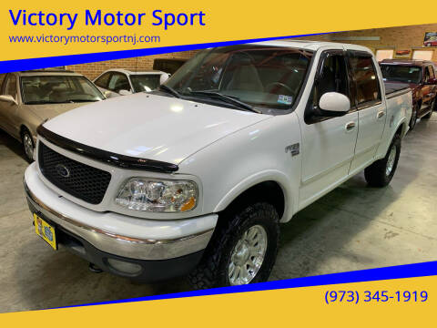 2001 Ford F-150 for sale at Victory Motor Sport in Paterson NJ