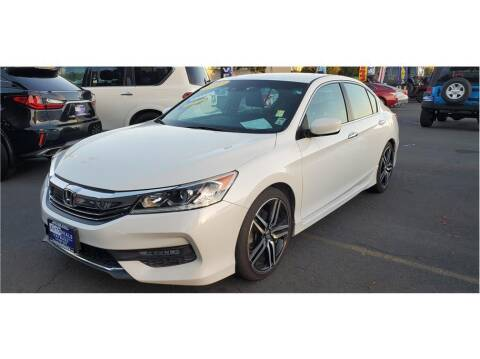 2017 Honda Accord for sale at AutoDeals in Hayward CA