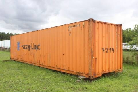 Shipping Containers for sale at WILSON TRAILER SALES AND SERVICE, INC. in Wilson NC