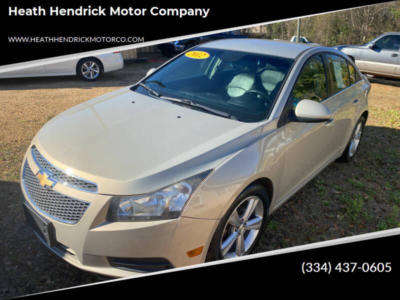 2012 Chevrolet Cruze for sale at Heath Hendrick Motor Company in Greenville AL
