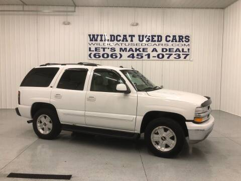 2004 Chevrolet Tahoe for sale at Wildcat Used Cars in Somerset KY