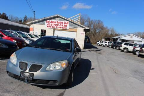 2009 Pontiac G6 for sale at SAI Auto Sales - Used Cars in Johnson City TN