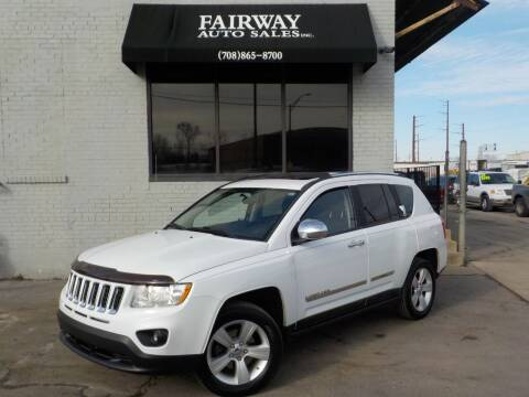 2011 Jeep Compass for sale at FAIRWAY AUTO SALES, INC. in Melrose Park IL