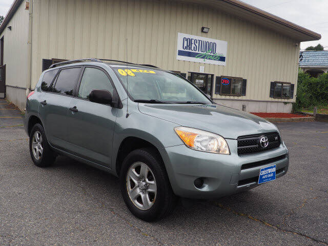 2008 Toyota RAV4 for sale at Crestwood Auto Sales in Swansea MA