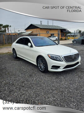 2015 Mercedes-Benz S-Class for sale at Car Spot Of Central Florida in Melbourne FL