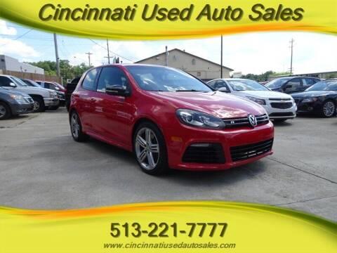 2013 Volkswagen Golf R for sale at Cincinnati Used Auto Sales in Cincinnati OH