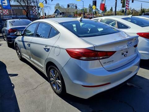 2017 Hyundai Elantra for sale at Rey's Auto Sales in Stockton CA