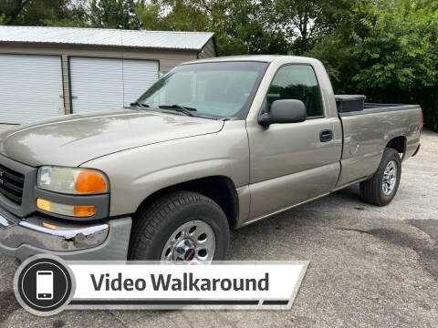 2003 GMC Sierra 1500 for sale at NJ Enterprises in Indianapolis IN