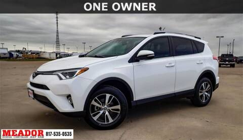 2017 Toyota RAV4 for sale at Meador Dodge Chrysler Jeep RAM in Fort Worth TX
