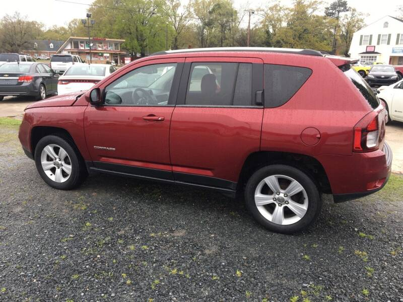 2014 Jeep Compass for sale at LAURINBURG AUTO SALES in Laurinburg NC