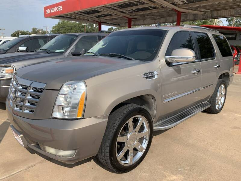 2007 Cadillac Escalade for sale at KD Motors in Lubbock TX