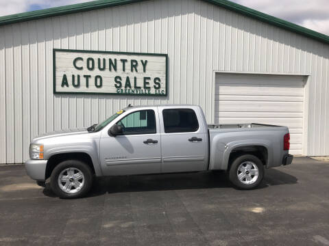 2010 Chevrolet Silverado 1500 for sale at COUNTRY AUTO SALES LLC in Greenville OH