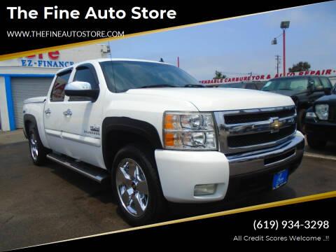 2011 Chevrolet Silverado 1500 for sale at The Fine Auto Store in Imperial Beach CA