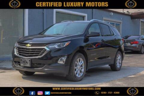 2018 Chevrolet Equinox for sale at Certified Luxury Motors in Great Neck NY