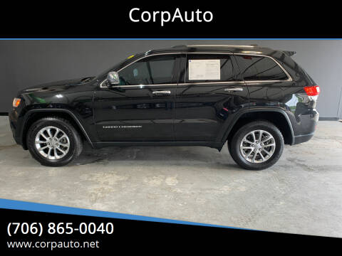 2014 Jeep Grand Cherokee for sale at CorpAuto in Cleveland GA