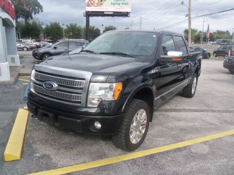 2011 Ford F-150 for sale at ORANGE PARK AUTO in Jacksonville FL