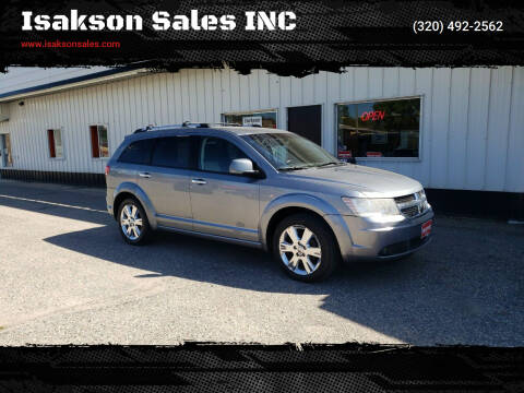 2009 Dodge Journey for sale at Isakson Sales INC in Waite Park MN