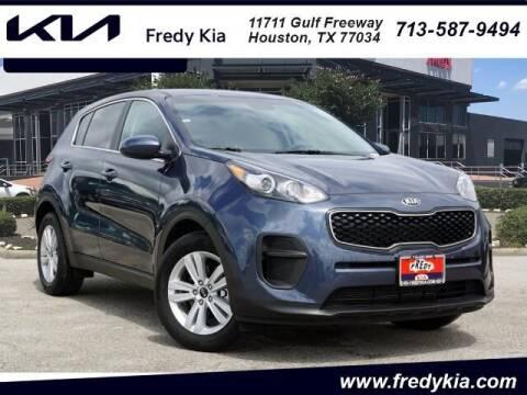 2019 Kia Sportage for sale at FREDY KIA USED CARS in Houston TX