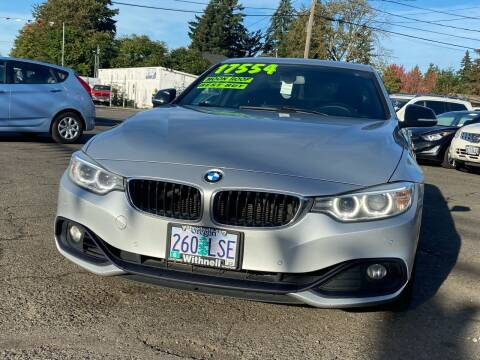 2014 BMW 4 Series for sale at JZ Auto Sales in Happy Valley OR
