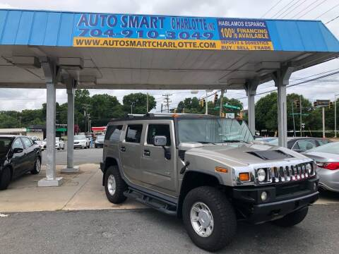 2003 HUMMER H2 for sale at Auto Smart Charlotte in Charlotte NC