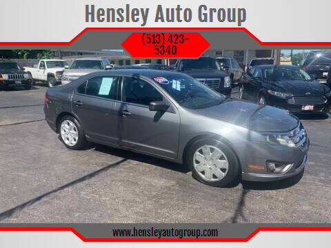 2010 Ford Fusion for sale at Hensley Auto Group in Middletown OH
