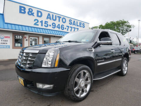2008 Cadillac Escalade for sale at B & D Auto Sales Inc. in Fairless Hills PA