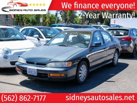 1997 Honda Accord for sale at Sidney Auto Sales in Downey CA