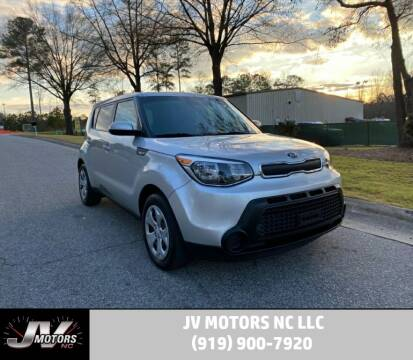 2014 Kia Soul for sale at JV Motors NC LLC in Raleigh NC