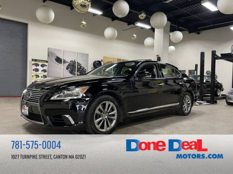 2013 Lexus LS 460 for sale at DONE DEAL MOTORS in Canton MA
