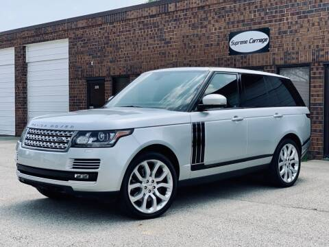2014 Land Rover Range Rover for sale at Supreme Carriage in Wauconda IL