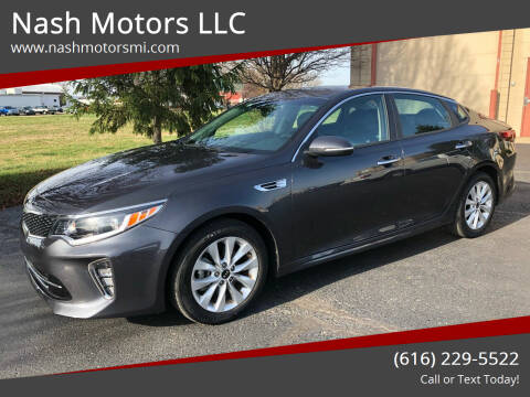 2018 Kia Optima for sale at Nash Motors LLC in Hudsonville MI