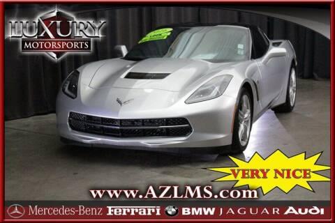 2016 Chevrolet Corvette for sale at Luxury Motorsports in Phoenix AZ