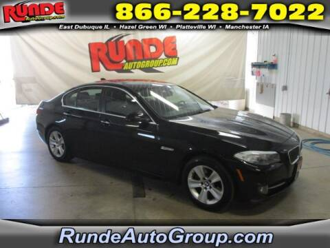2013 BMW 5 Series for sale at Runde Chevrolet in East Dubuque IL