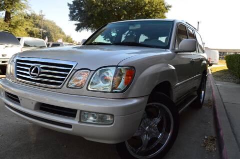2006 Lexus LX 470 for sale at E-Auto Groups in Dallas TX