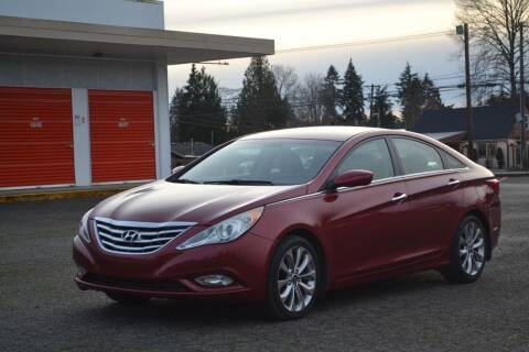 2012 Hyundai Sonata for sale at Skyline Motors Auto Sales in Tacoma WA