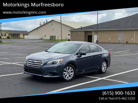 2016 Subaru Legacy for sale at Motorkings Murfreesboro in Murfreesboro TN