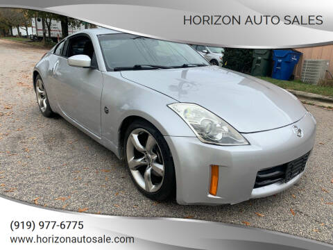2007 Nissan 350Z for sale at Horizon Auto Sales in Raleigh NC