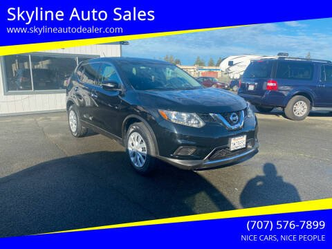 2015 Nissan Rogue for sale at Skyline Auto Sales in Santa Rosa CA
