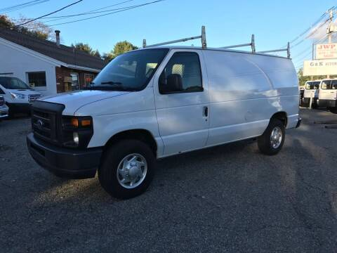 2014 Ford E-Series Cargo for sale at J.W.P. Sales in Worcester MA