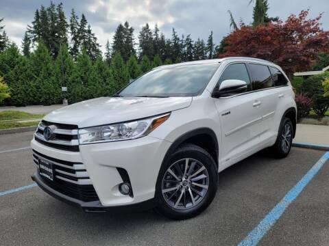 2018 Toyota Highlander Hybrid for sale at Silver Star Auto in Lynnwood WA