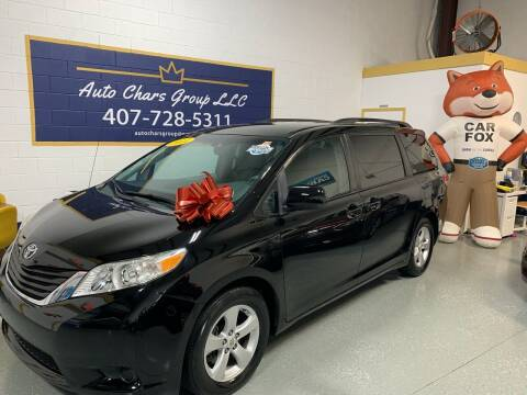 2011 Toyota Sienna for sale at Auto Chars Group LLC in Orlando FL