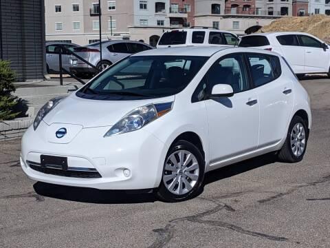 2014 Nissan LEAF for sale at Clean Fuels Utah - SLC in Salt Lake City UT
